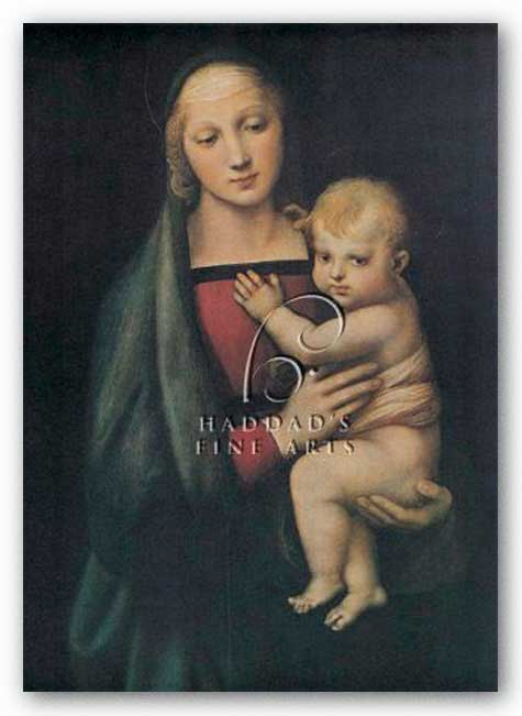 The Madonna Del Granduca by Sanzio Raphael (Raffaello)