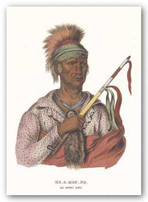 Ne-O-Mon-Ne, an Ioway Chief by McKenney-Hall