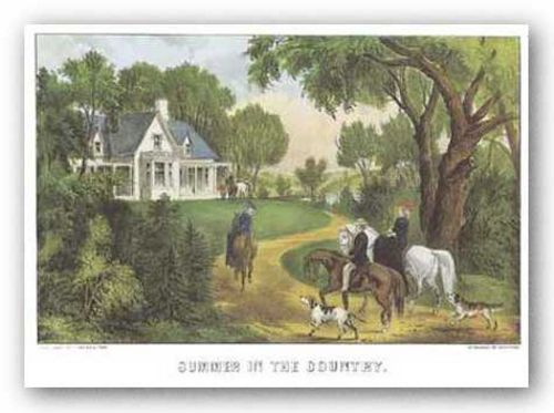 Summer in the Country by Currier and Ives