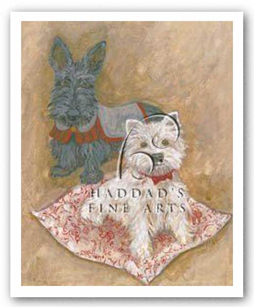 Scotties by Carol Ican
