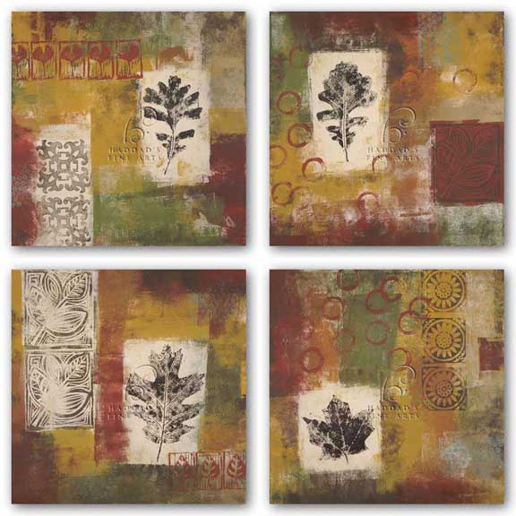 Leaf Elements Set by Jodi Reeb-Myers