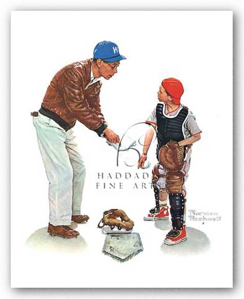 Big Decision by Norman Rockwell