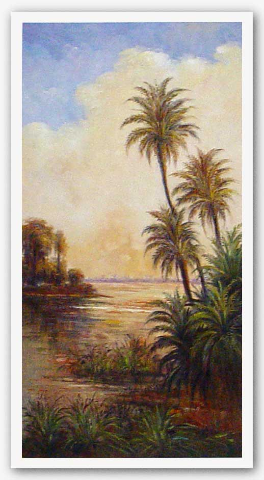 Tropical Serenity I by Davidson