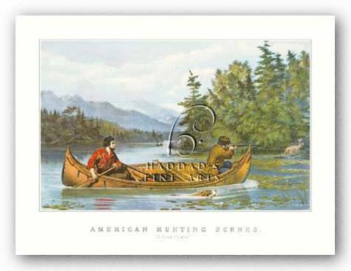 American Hunting Scenes by Currier and Ives