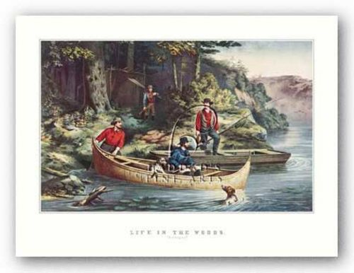 Life in the Woods by Currier and Ives