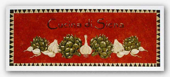 Cucina Di Siena by Gayle Bighouse