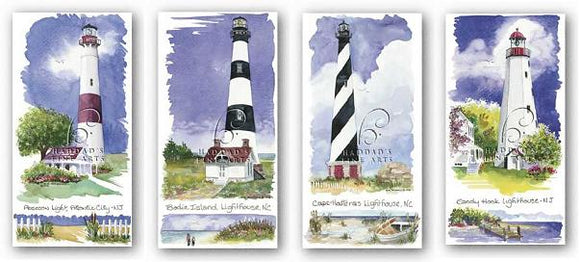 Lighthouse Set by Kim Attwooll