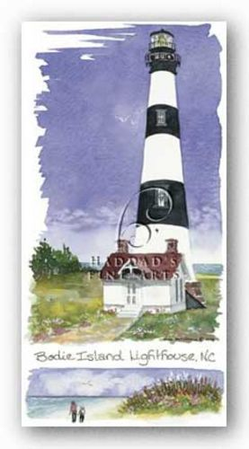 Bodie Island Lighthouse by Kim Attwooll