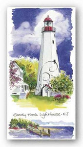 Sandy Hook Lighthouse by Kim Attwooll