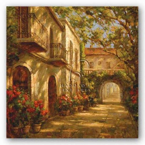 Along the Passageway by Paul Burkett