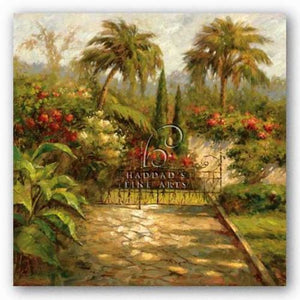 Plantation Gate by Paul Burkett