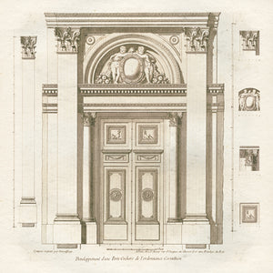 Architectural Study in the Corinthian Style by Mauro Cardoza