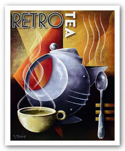 Retro Tea by Michael Kungl