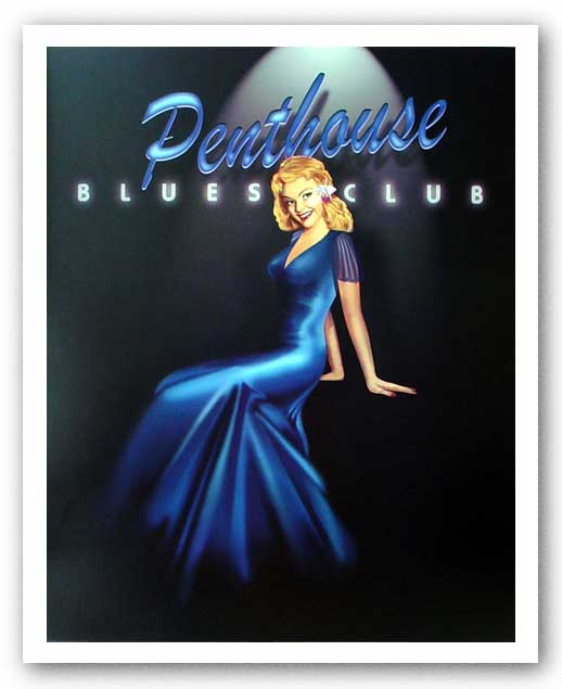 Penthouse Blues Club by Ralph Burch