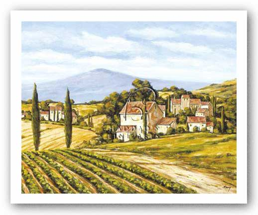 Road to the Vineyard by Charles Berry