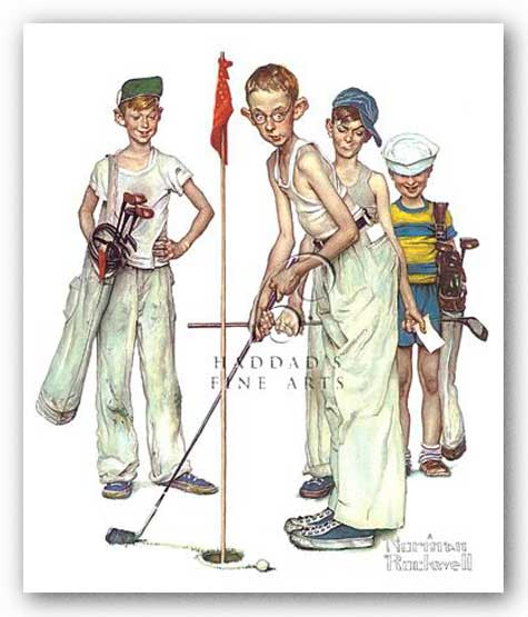 Missed by Norman Rockwell