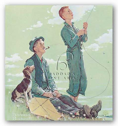Soaring Spirits by Norman Rockwell