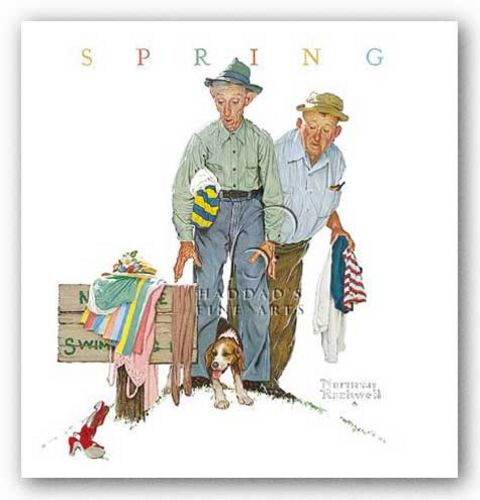 Sweet Surprise by Norman Rockwell