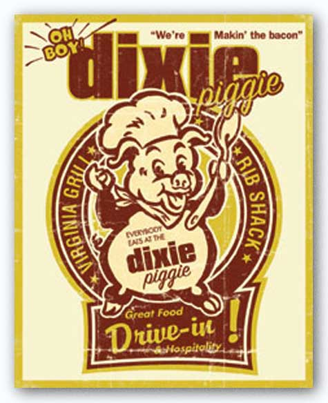 Dixie Piggie Drive-in by Joe Giannakopoulos