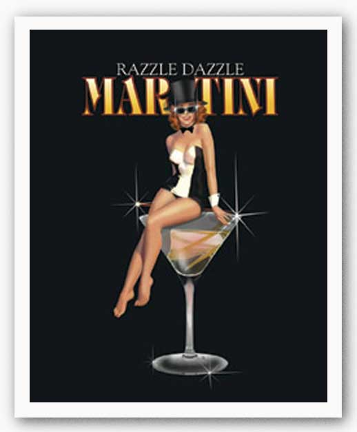 Razzle Dazzle Martini by Ralph Burch