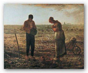 The Angelus, 1859 by Jean-Francois Millet