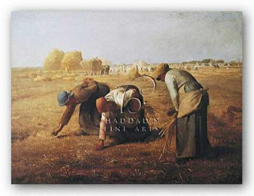 Gleaners by Jean-Francois Millet