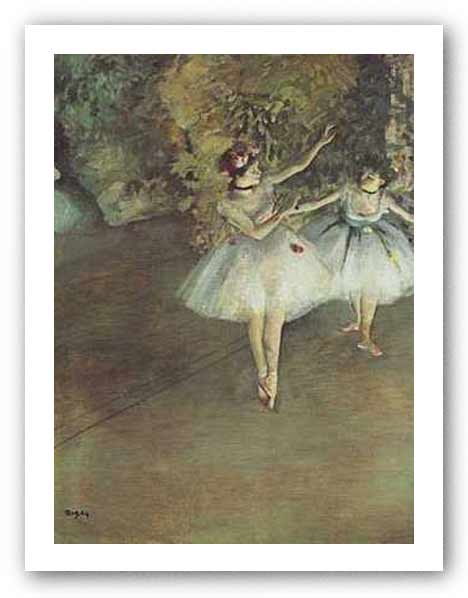 Two Dancers, 1877 by Edgar Degas