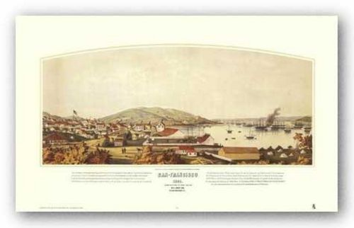 San Francisco, 1849 by Henry Firks