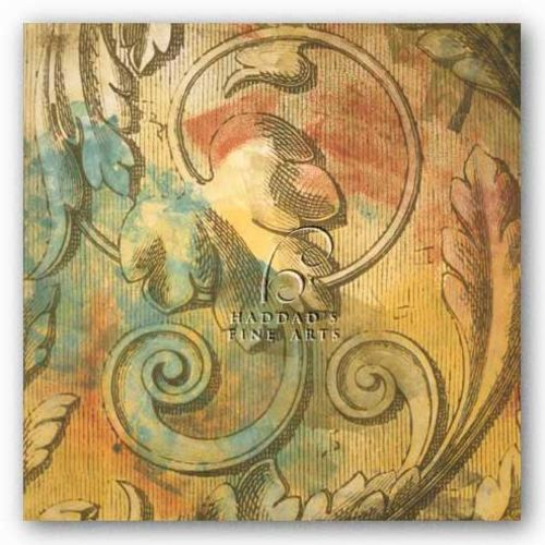 Acanthus Scroll II by Jonde Northcutt