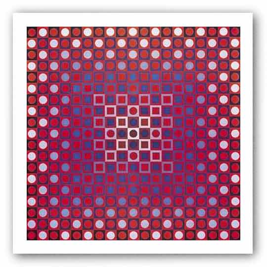 Alom by Victor Vasarely