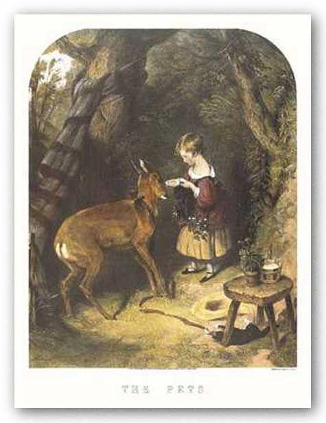 The Pets by Sir Edwin Henry Landseer