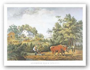American Farm Scenes by Currier and Ives