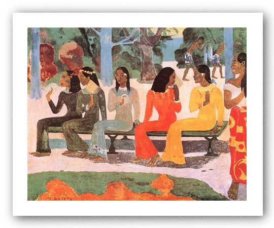 Ta Matete by Paul Gauguin