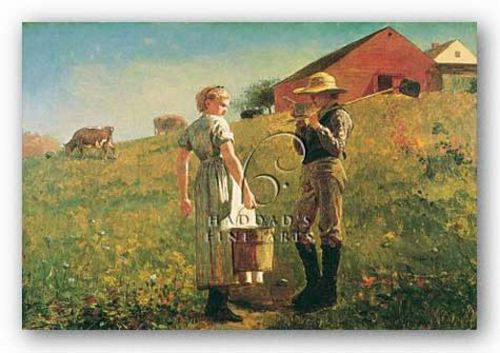 Gloucester Farm by Winslow Homer