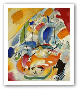 Improvisation 31 (Sea Battle) by Wassily Kandinsky