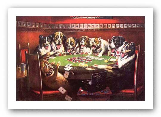 Poker Sympathy by C.M. Coolidge