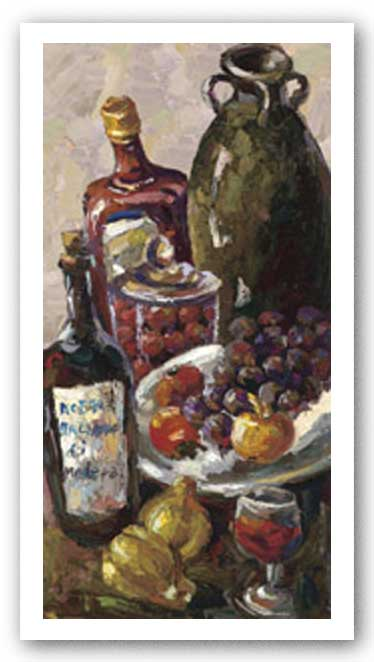 Pears and Wine by Blackburn