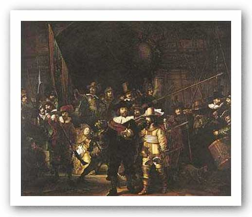 The Night Watch by Rembrandt Harmenszoon van Rijn