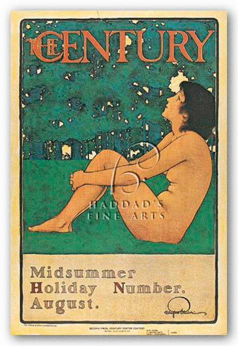 Century Poster by Maxfield Parrish