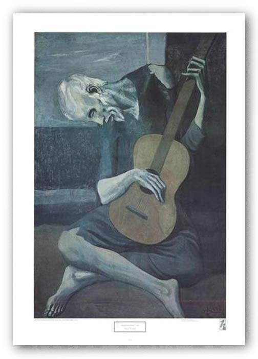 Old Guitarist by Pablo Picasso