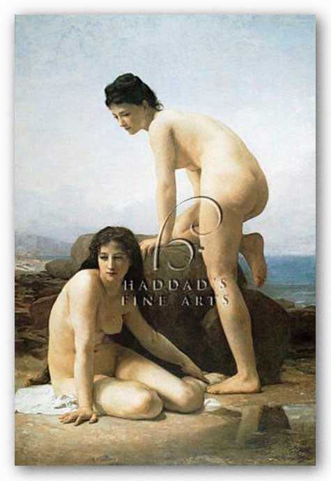 The Bathers by William-Adolphe Bouguereau