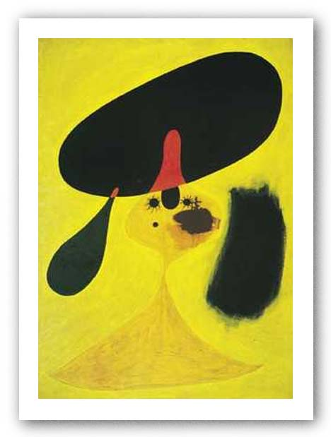 Portrait of a Young Girl by Joan Miro