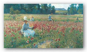 In Flanders Fields by Robert W. Vonnoh