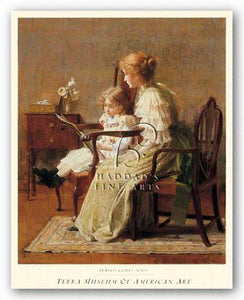 Mother and Child, c. 1885 by Francis Coates Jones