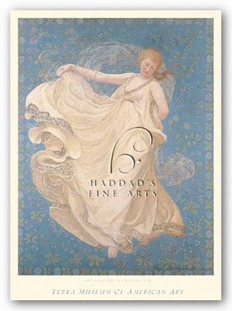 The Breeze, 1895 by Mary Fairchild MacMonnies Low