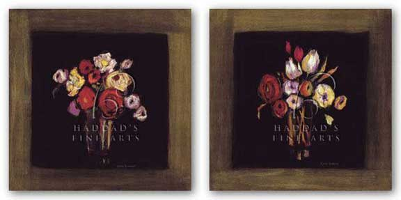 Baroque Bouquet Set by Karel Burrows