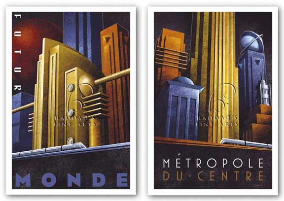 Metropole Du Centre and Futur Monde Set by Michael Kungl