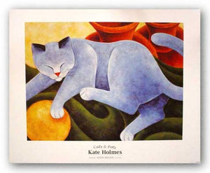Cats and Pots by Kate Holmes