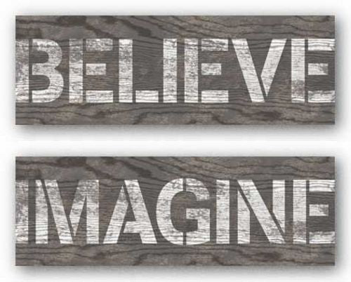Imagine and Believe Set by N. Harbick