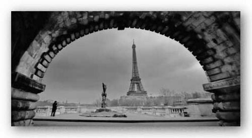 Paris, Under the Bridge by Sabri Irmak